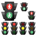 Traffic Light Collection 1 Royalty Free Stock Photo - 57476565