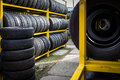 Tires For Sale Royalty Free Stock Photography - 57479417