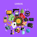 Gambling And Games Concept Royalty Free Stock Image - 57519806