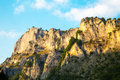 Eagle Eye Panoramic Viewpoint Up On The Cliff In Rhodope Mountains Royalty Free Stock Photography - 57519837