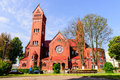 Red Church Stock Images - 57528714