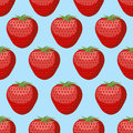Strawberry Seamless Pattern. Fresh, Red, Ripe Strawberry  Stock Photos - 57541803