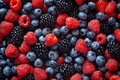 Healthy Mixed Fruit And Ingredients From Top View Royalty Free Stock Photo - 57606995