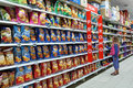 Snack Food Aisle Royalty Free Stock Images - 57613759