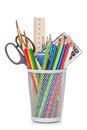 School And Office Supplies Royalty Free Stock Photo - 57634625