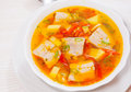 Fish Soup With Vegetables Stock Photo - 57661960