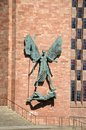 Michael And The Devil, Coventry. Stock Images - 57728544