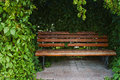 Bench In The Park Royalty Free Stock Image - 57732226