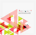 Abstract Geometric Background. Modern Overlapping Royalty Free Stock Photography - 57732367
