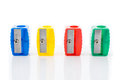 Different Colors Sharpener Royalty Free Stock Photos - 57734728
