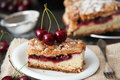 Delicious And Fresh Cherry Pie Royalty Free Stock Photos - 57743618