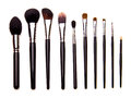 Set Of Essential Professional Make-up Brushes Stock Images - 57747314
