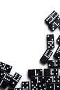 Pieces Of Domino Stock Image - 57776281