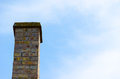 Chimney. Cloudy Blue Sky. Copy Space For Text. Royalty Free Stock Photo - 57786165