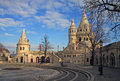 Fisherman S Bastion And Matthias Church In Budapest, Hungary Royalty Free Stock Photo - 57789905