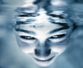 Face In The Water Royalty Free Stock Photos - 57790278