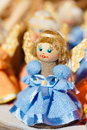 Colorful Belarusian Straw Dolls At Local Market In Stock Photography - 57792172