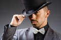 Man With Hat In Vintage Concept Royalty Free Stock Photo - 57796875