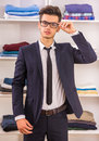 Man In Dressing Room Stock Images - 57807074