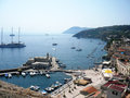 Mediterranean Small Harbour Royalty Free Stock Photography - 57807177