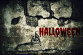 Halloween Bloody On Dirty Brick Wall With Vintage And Vignette T Stock Image - 57848121