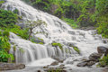 Mae Ya Waterfall In Doi Inthanon National Park, Chiang Mai, Thai Stock Images - 57888704