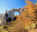 Stone Arch On A Top Of The Hill Stock Photography - 5793522
