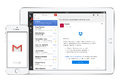 Google Gmail App On The White Apple IPad And IPhone Royalty Free Stock Photo - 57904995