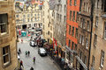 Tourists In The Greater Grassmarket, Edinburgh, Scotland, 11.08.2015 Royalty Free Stock Images - 57923139
