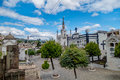 Inside San Diego Church Cemetary Showing Some Royalty Free Stock Images - 57924419
