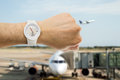 It S The Time To Departure Flight Royalty Free Stock Image - 57928616