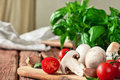 Food Ingredients For Pizza Or Pasta Dishes Royalty Free Stock Photos - 57930478