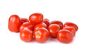 Red Cherry Tomato On White Background Royalty Free Stock Images - 57931729