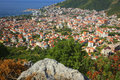 Top View Budva Montenegro Royalty Free Stock Image - 57950406
