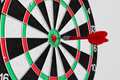 Dart In Center Of Target Royalty Free Stock Images - 57961539
