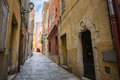 Medieval Street In Villefranche-sur-Mer Stock Photo - 57968310