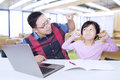 Male Teacher Scolding His Lazy Student Royalty Free Stock Photography - 57973037