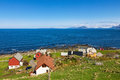 Small Village By The Sea Stock Images - 57975744