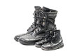 Combat Boots For Adult And Kid Stock Photos - 57996783