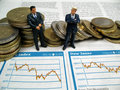 Business On Stock Market Stock Image - 5806191