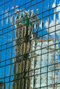 Abstract Building Reflection Royalty Free Stock Images - 5809149