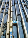 Logged Drill Core In Trays Royalty Free Stock Photography - 58007407