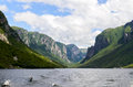 Western Brook Pond Royalty Free Stock Photography - 58009387