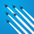 Fighter Jets Royalty Free Stock Photo - 58049655