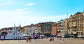 MARSEILLE - JULY 2, 2014: Old Port (Vieux-Port) With People Walk Stock Photo - 58060000
