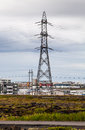 High Voltage Power Lines Royalty Free Stock Photos - 58074788