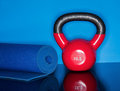 Kettle Ball Workout Stock Image - 58075591