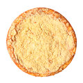 Curd Pie Top View Royalty Free Stock Image - 58080526