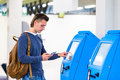 Display At Self-service Transfer Machine, Doing Stock Photography - 58089532