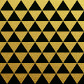 Gold Seamless Pattern Of Triangles On Black Background Stock Photo - 58098330